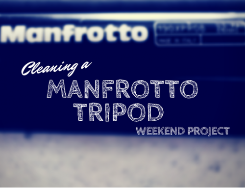 How to Clean a Manfrotto Tripod