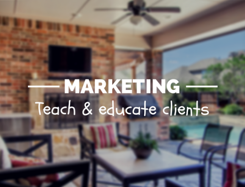 Marketing Through Teaching & Educating Potential Clients